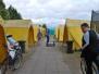 Lenste2019 - Zelt und Platz werden erkundet
